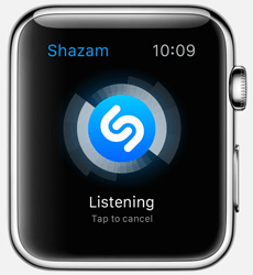 Shazam App for Apple Watch