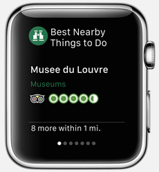 Tripadvisor App for Apple Watch