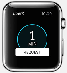 Uber Apple Watch App