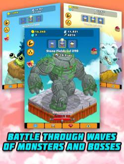 Clicker Heroes in Game Play