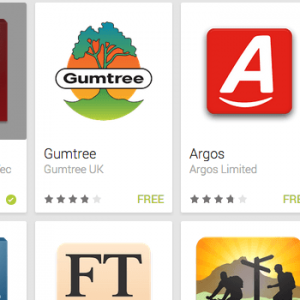 Google Play Best Apps for 2013