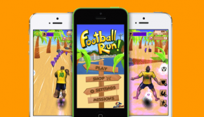 Antiball Football Run App
