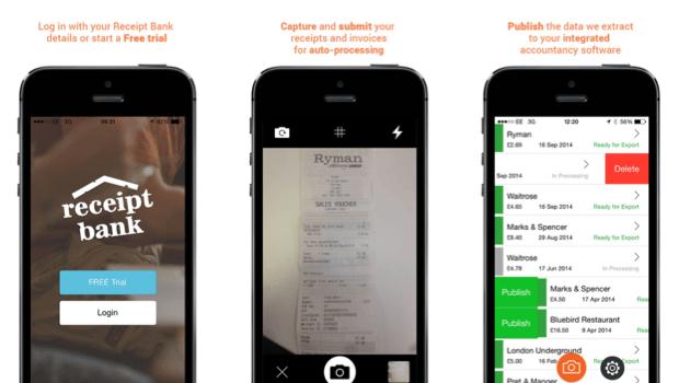 Receipt Bank iOS app