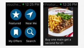 Vouchercloud Apple Watch App
