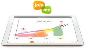 Join.me iPad Pro App